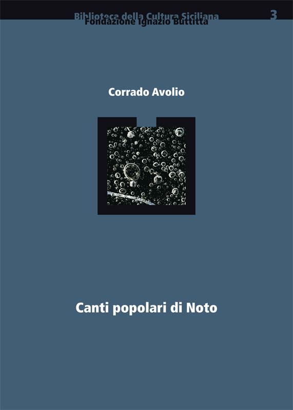 Canti Popolari di Noto (sovracoperta)