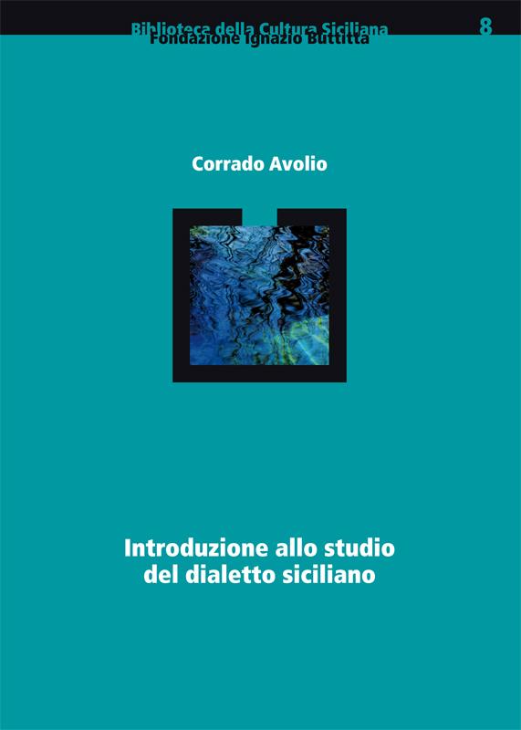 Introduzione allo Studio del Dialetto Siciliano (sovracoperta)