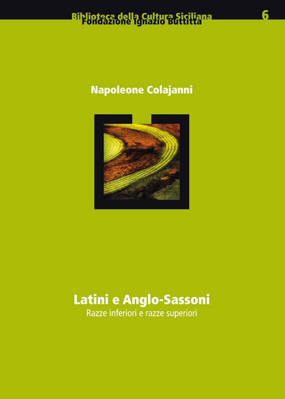 Latini e Anglo-Sassoni (sovracoperta)